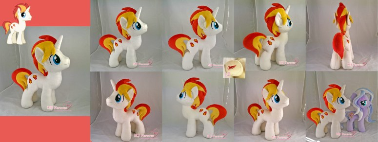 Eclipse Flare plushie sewn by meee!!!!