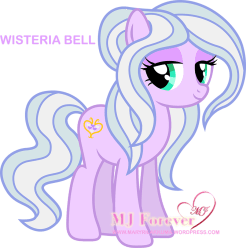 Wisteria Bell. Drawn by Disfiguredstick