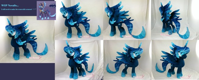 Novalis WIP pics (he still needs his removable armour) - sewn by meeee!!!!!!