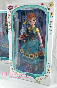 """My second 17"""" Anna Frozen Fever Limited Edition doll. LE 5000"""