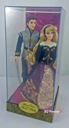 Limited Disney Fairytale Designer Collection - Briar Rose & Prince Phillip dolls
