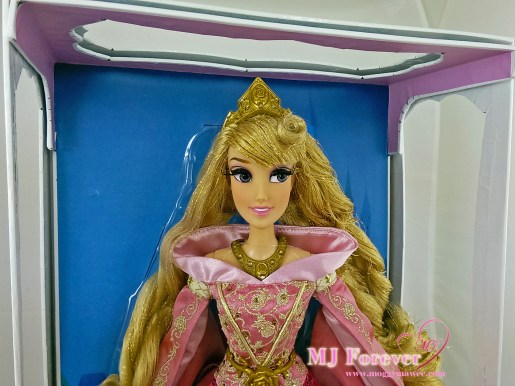 """17"""" Limited Edition Aurora Doll in Pink dress"""