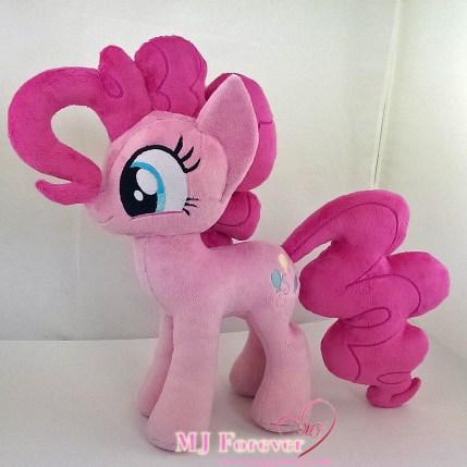 Pinkie Pie plushies sewn by meeee!!!!!!!