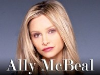 Calista Flockhart on ALLY MCBEAL CR:Matthew Rolston/FOX