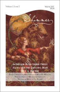 Shimmer, Winter 07 cover