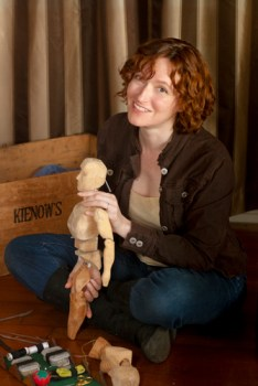 Mary Robinette Kowal, puppeteer