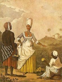 The Barbadoes Mulatto Girl after Agostino Brunias