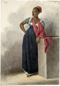Portrait of a Black Woman, Rio de Janeiro, Brazil, ca. 1822