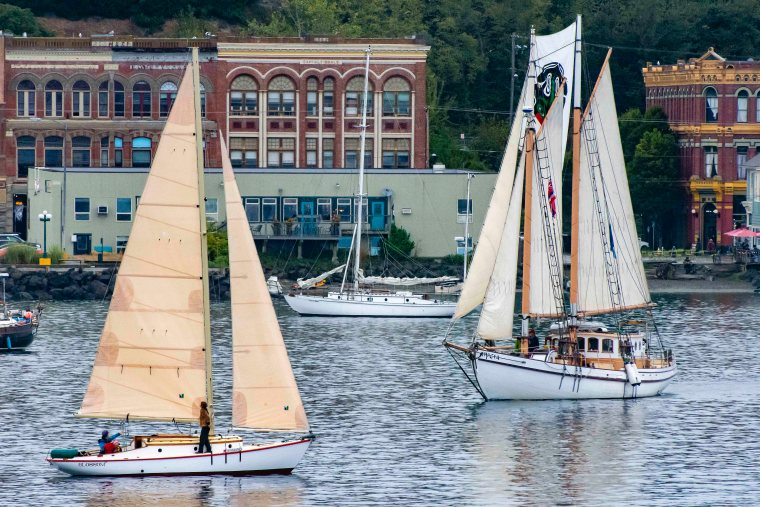 Port Townsend Waterfront Sailing