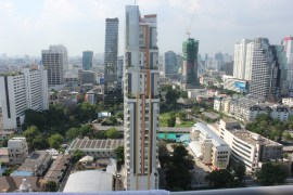 View of BKK from Elisa's apartment