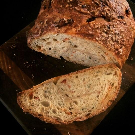 Bruschetta Rosemary Sourdough sliced