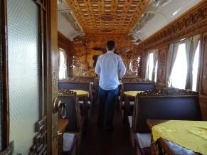 The Mongolian Buffet car