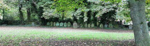 St Saviour gravestones