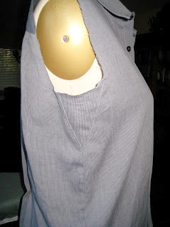 Thrift Shop Refashion of Mens Dress Shirt3