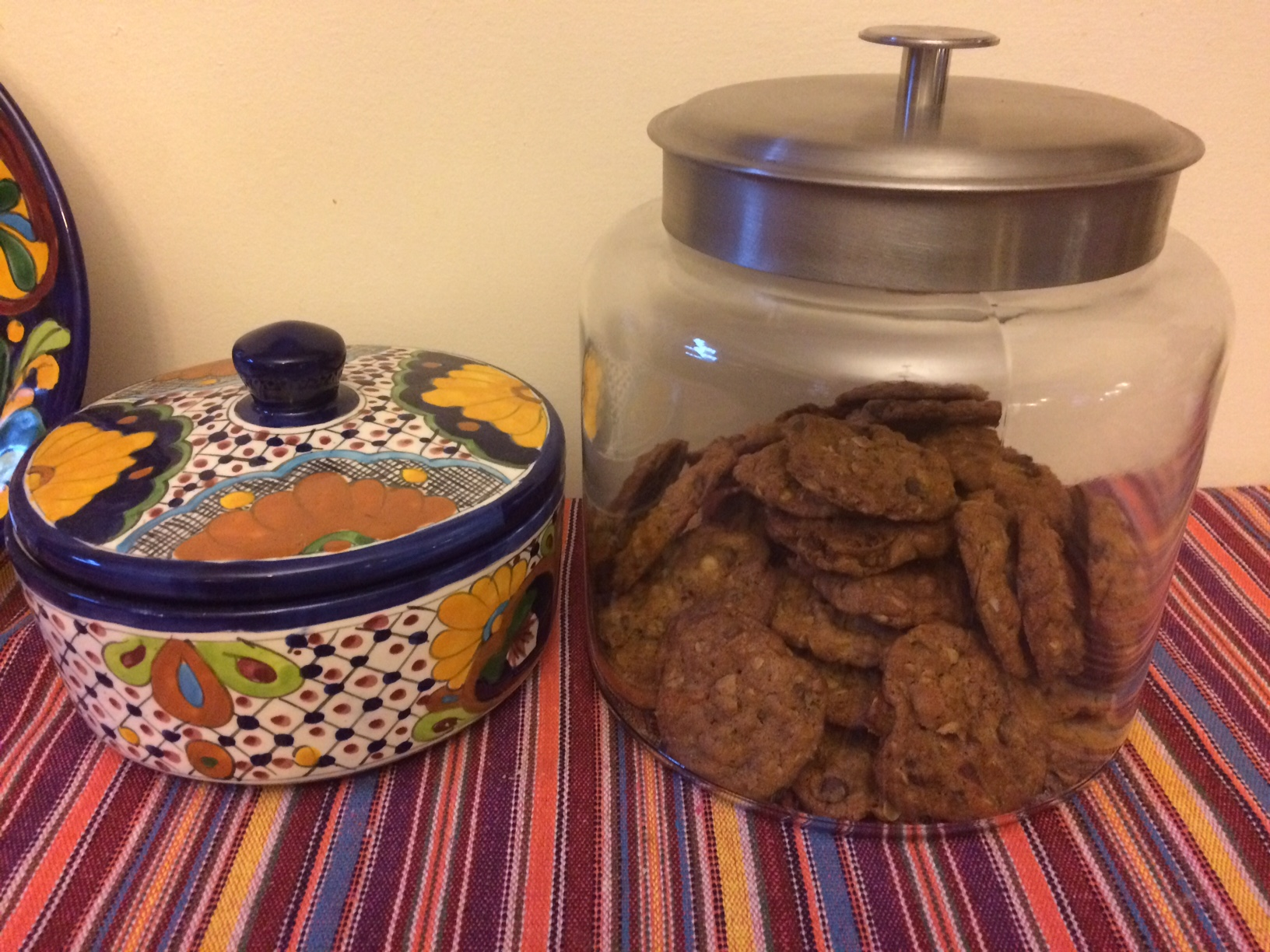 Hillary and chocolate chip cookies