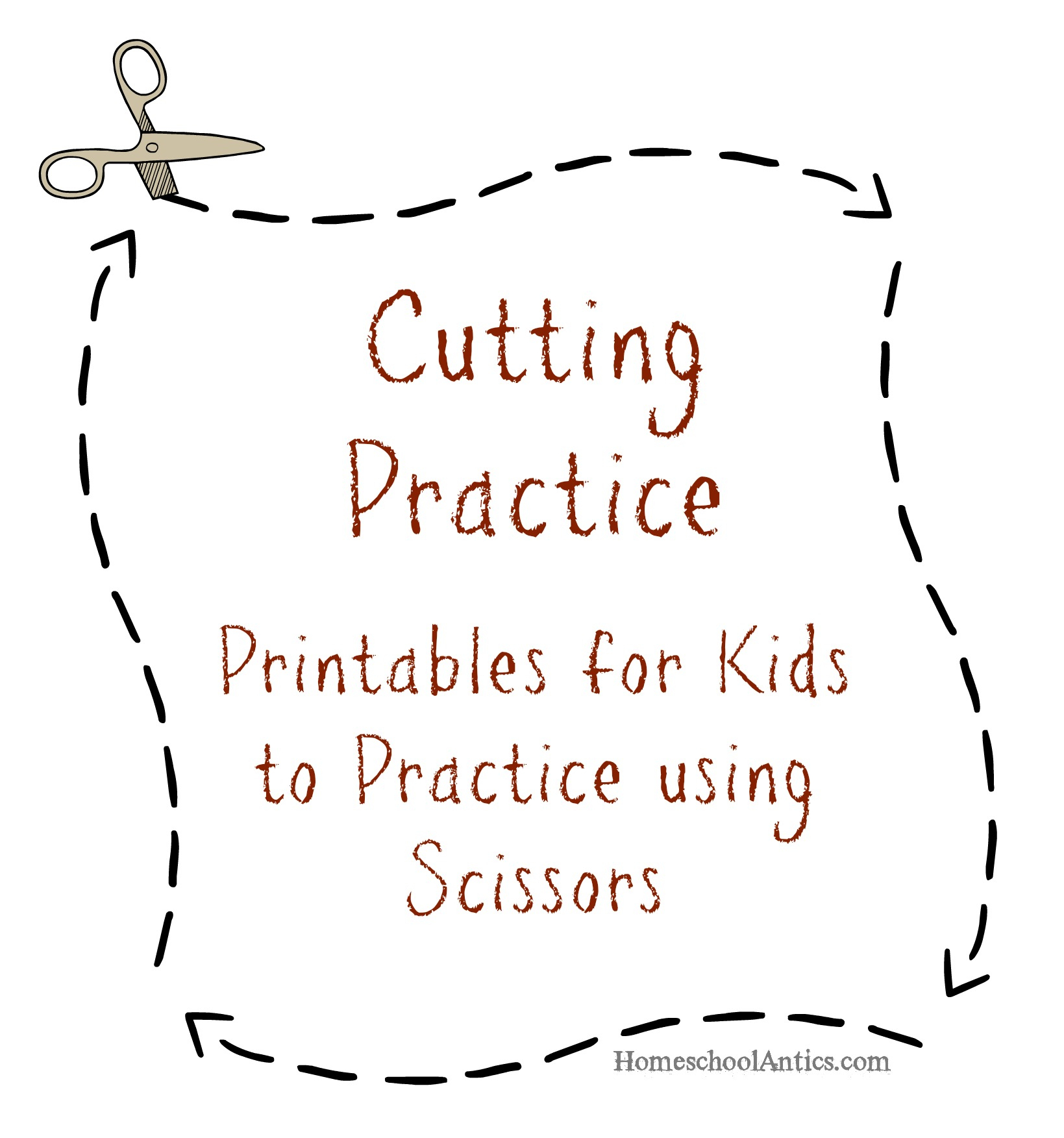Free Printable Cutting Worksheets For Kindergarten