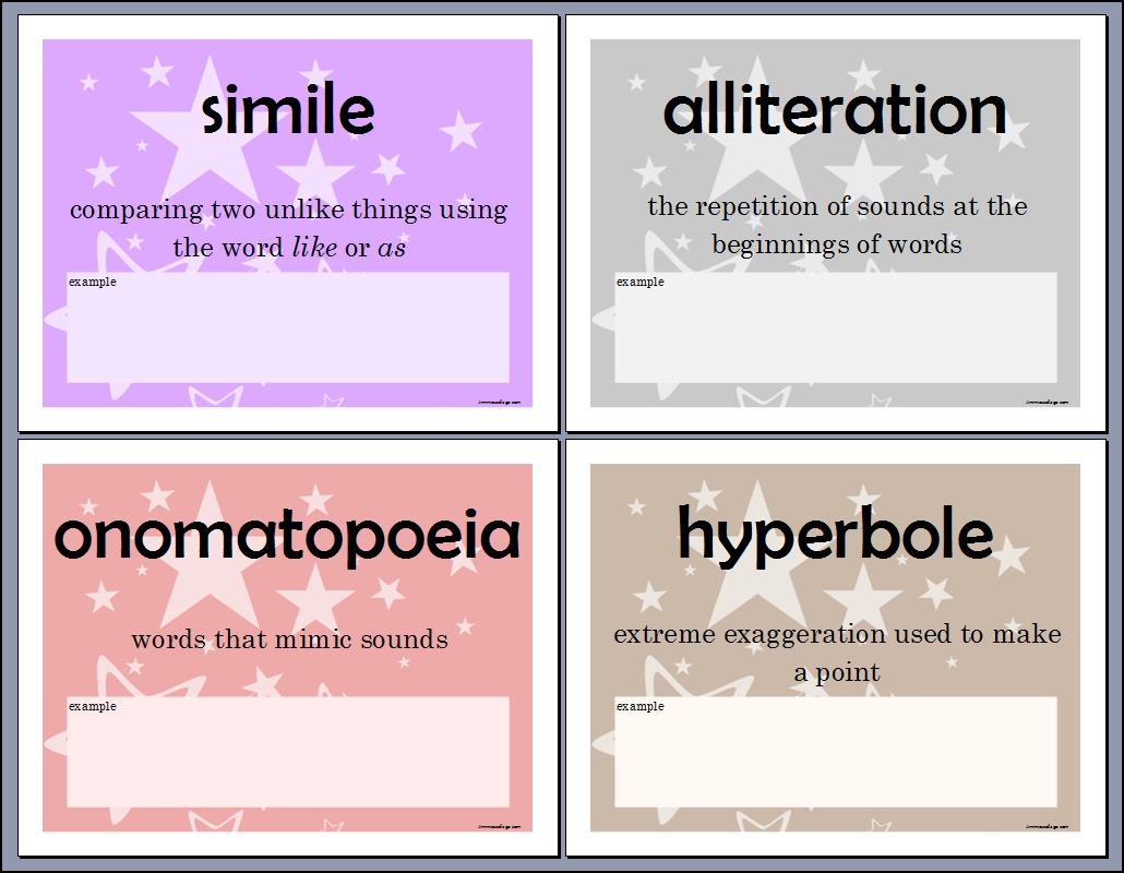 Free Printable Literary Elements Worksheets