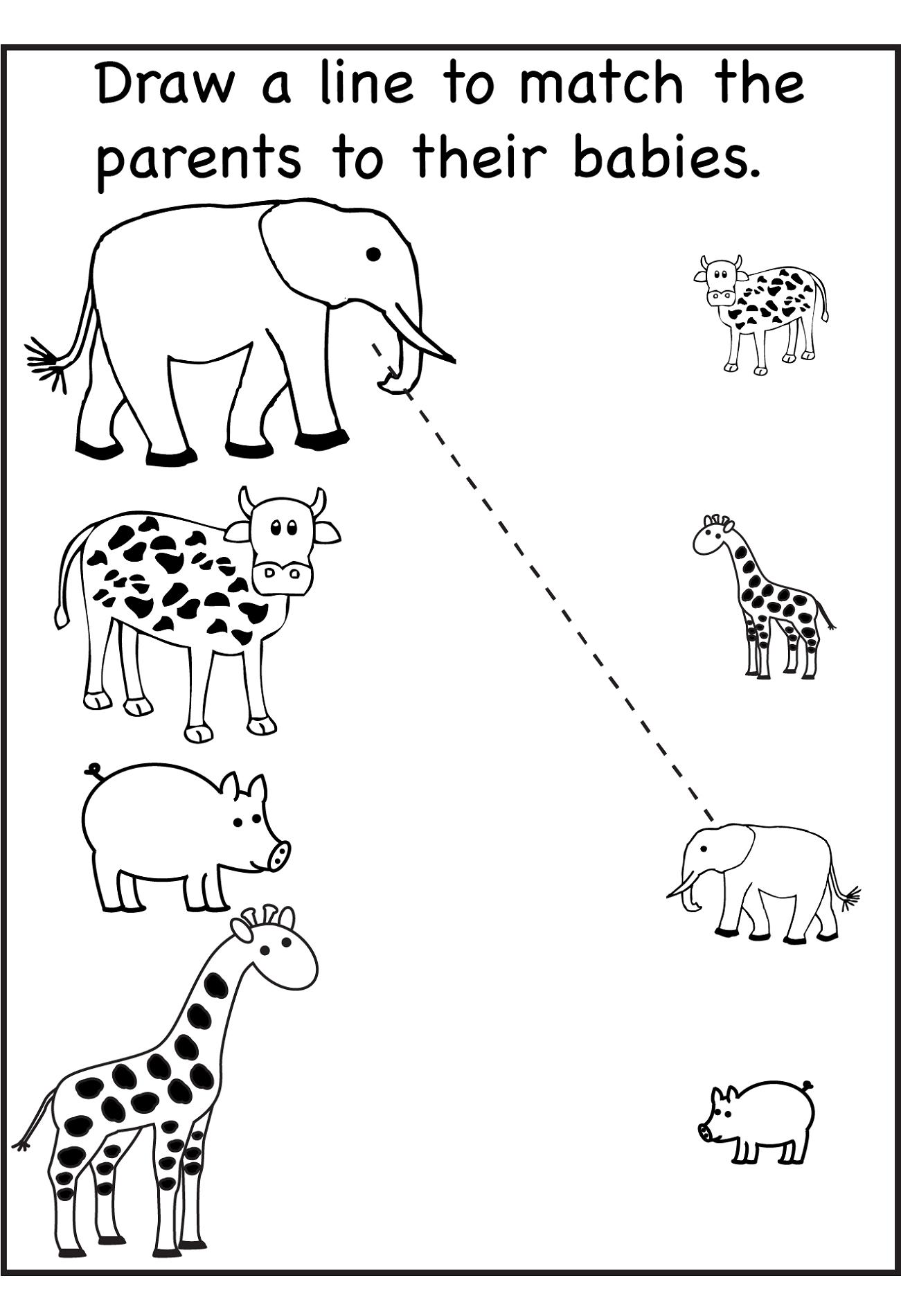 Free Printable Preschool Worksheets Age 3