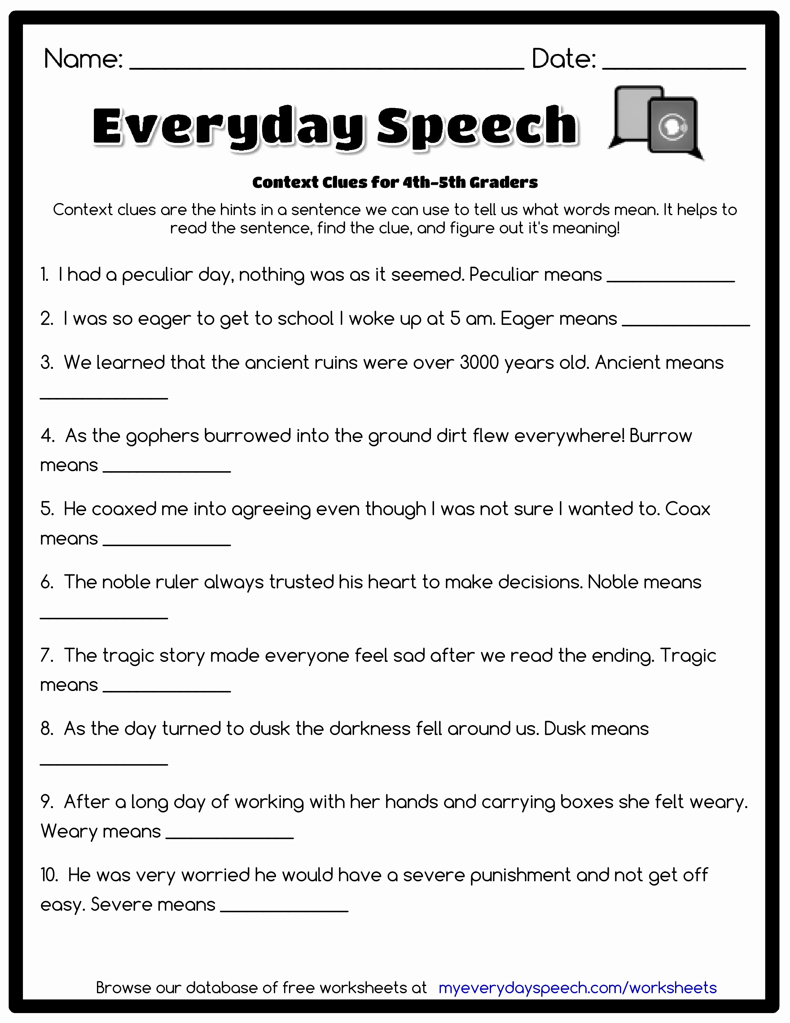 Saved Free Printable English Grammar Worksheets For Grade