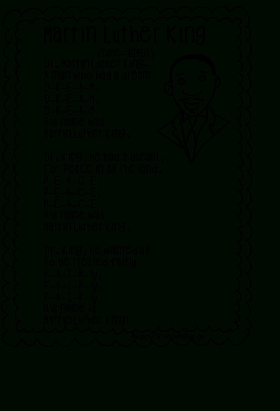 Martin Luther Worksheet Martin Luther King Jr Worksheets I