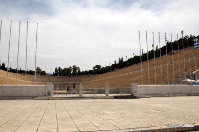 The Panathenaic Stadium - Build in 4th century BC, hosted the first modern Olympics in 1896 and some of the 2004 events!