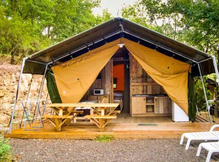 Tenda Glamping Safari tent