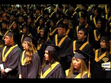 Grados de pregrado Universidad EAFIT 14 de Diciembre 2016. Hora: 2:00 p.m.