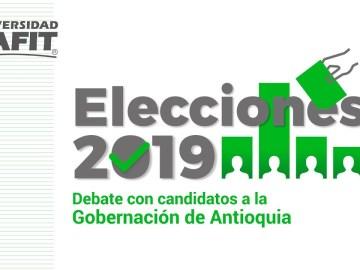 Debate político entre los aspirantes a la Gobernación de Antioquia