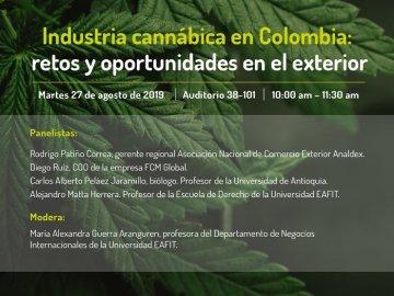 Industria cannábica en Colombia- retos y oportunidades en el exterior