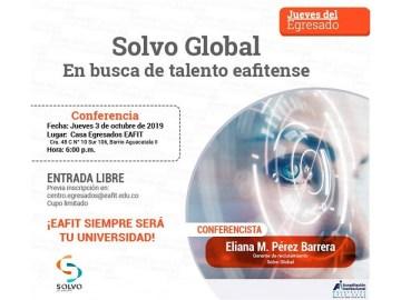 Solvo Global. En busca de talento eafitense