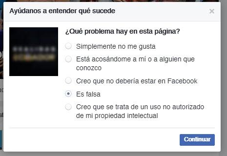 Engaño página Facebook Realidad Ecuador