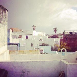 Tejados marroquíes.