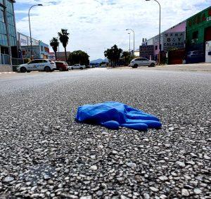 Un bulo en medio de la calle.