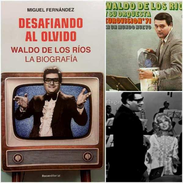 Waldo de los Río, director de orquesta en Eurovisión 1971 con Karina
