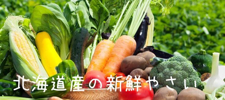 北海道産新鮮やさい