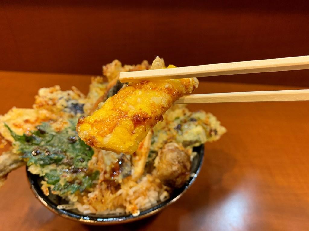 北海道コーンの天ぷら