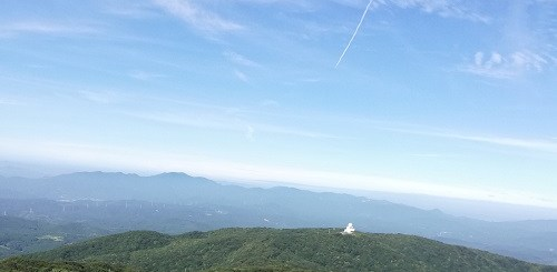 背振山山頂からの眺め