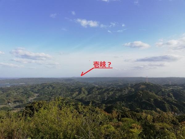 大平山公園からの眺め