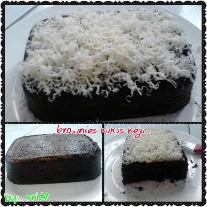 11. Brownies Kukus Keju