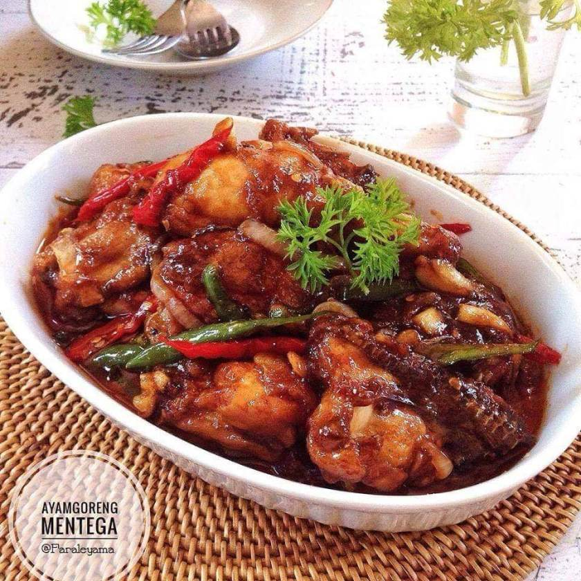 5. Resep Ayam Goreng Sederhana dengan Mentega