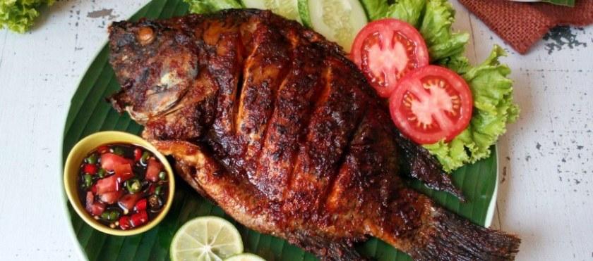 6. Resep Ikan Mujair Bakar Kecap Pedas