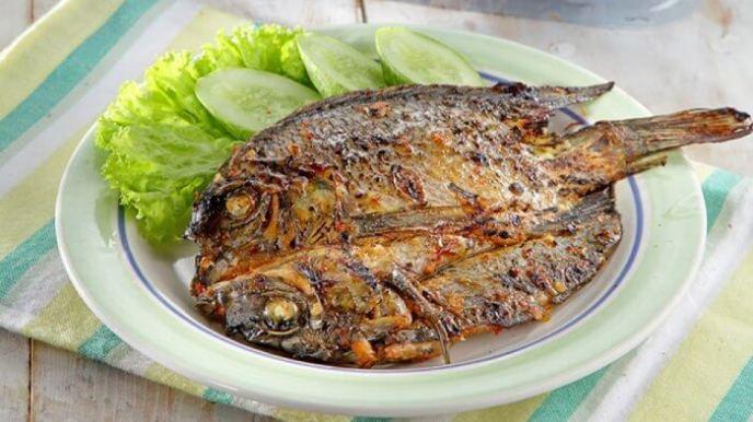 7. Resep Ikan Mujair Bakar Taoco Pedas
