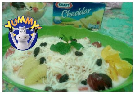 12. cara membuat salad buah yoghurt