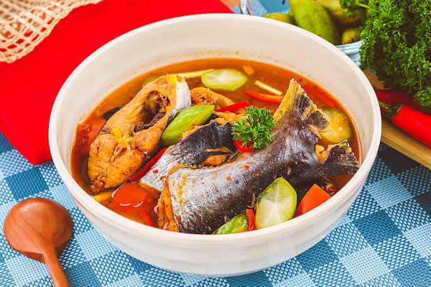 4. Resep Sup Ikan Asam Pedas
