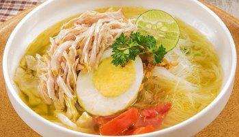 Resep Soto Ayam Bening Kuning