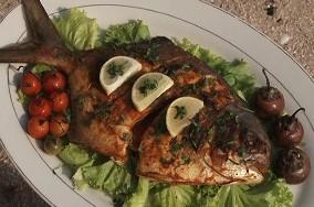 Resep Masakan Ikan Bawal Bintang Bakar Asam Pedas