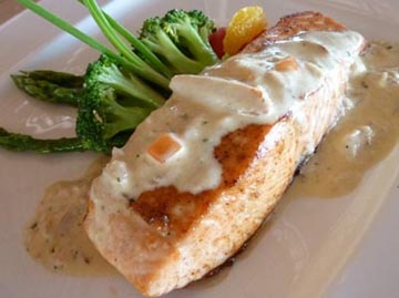 Resep Masakan Ikan Salmon Saus Lemon