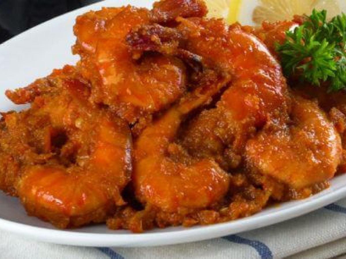 Resep Masakan Udang Asam Manis Pedas Ala Restoran