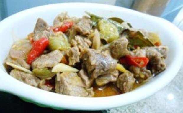resep garang asem daging