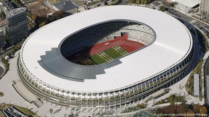 Новый олимпийский стадион в Токио